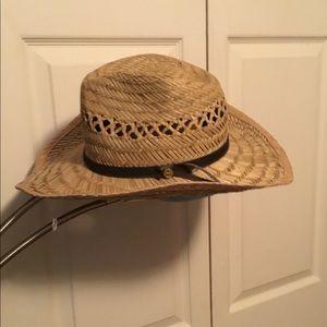 0b07f0283fb4d Vintage Accessories - Vintage Gold Coast Sunwear Straw Hat